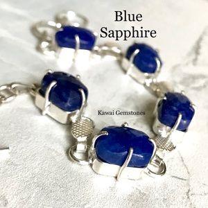 Jewelry - SALE ✨Sapphire Bracelet✨925 Silver